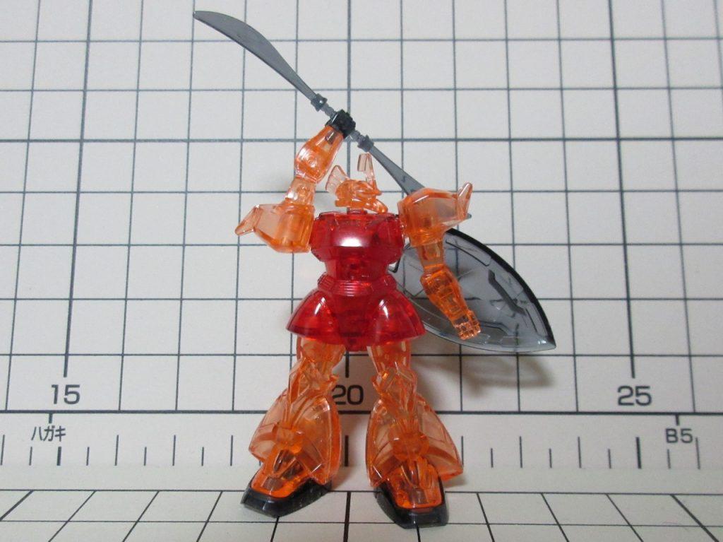 カップヌードルminiガンプラ03802nd シャア専用ゲルググの写真