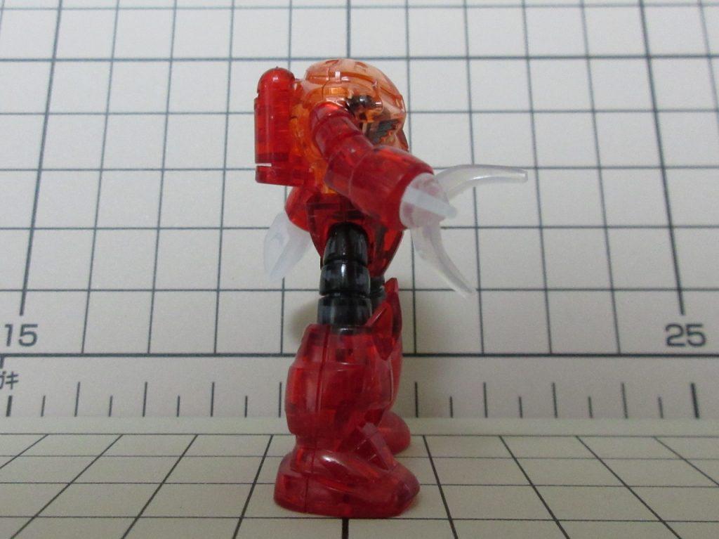 カップヌードルminiガンプラ03802nd シャア専用ズゴックの写真
