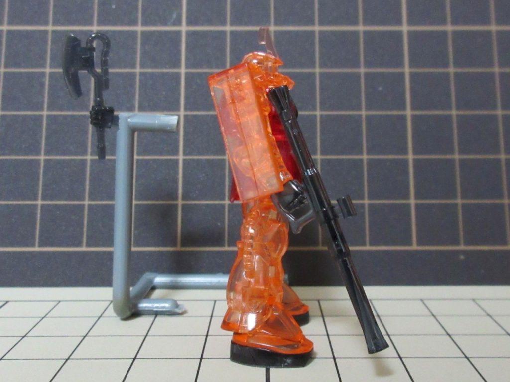 カップヌードルminiガンプラ 1/380-2nd シャア専用ザクの写真