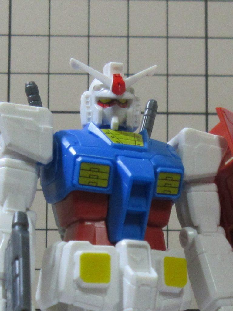 カップガンプラ(2011#001)1/200 RX-78-2ガンダム(アニメカラー)の写真